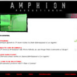 amphion productions: web