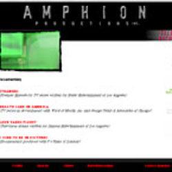 amphion productions: web