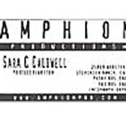 amphion productions: print