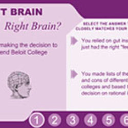 beloit college :beloit fund brain quiz