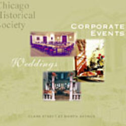 chicago historical society: corporate events rentals