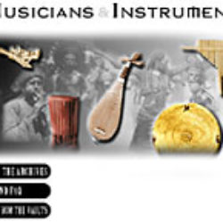 field museum of natural history: musicians and instruments