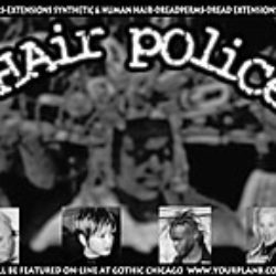hair police: print