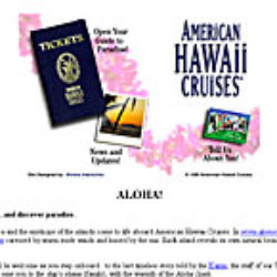 american hawaii cruises