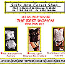 sally ann corset shop