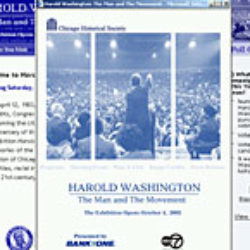 chicago historical society: harold washington