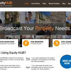 EquityHUB.com remodel – a true collaboration!