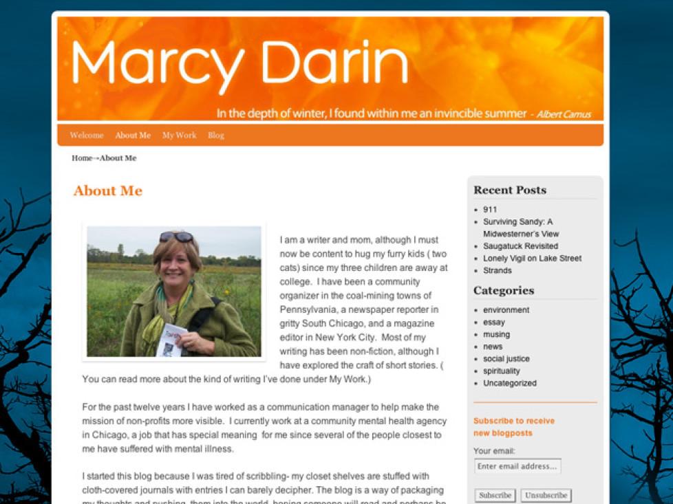 MarcyDarin.com Launch!