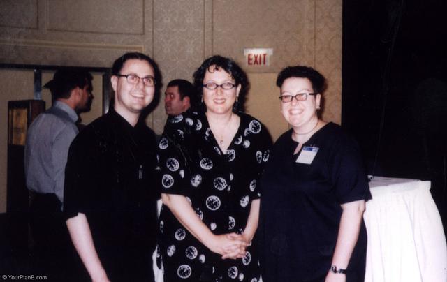 Meeting Lynda in 2000