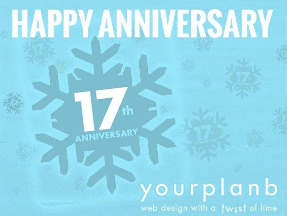 Happy 17th Anniversary!