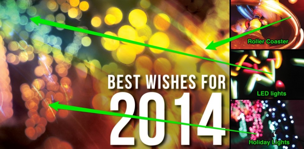 Photoshop dissection of our 2014 New Year card