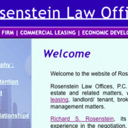 rosenstein law offices: v1.0
