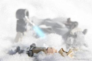 "Lego Star Wars ""Hoth"" Fan Art"