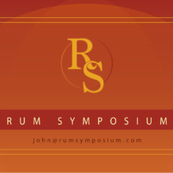 Rum Symposium Business Cards