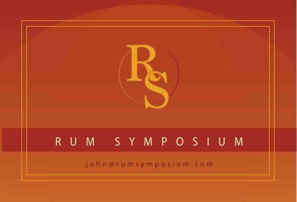 Rum Symposium Business Cards