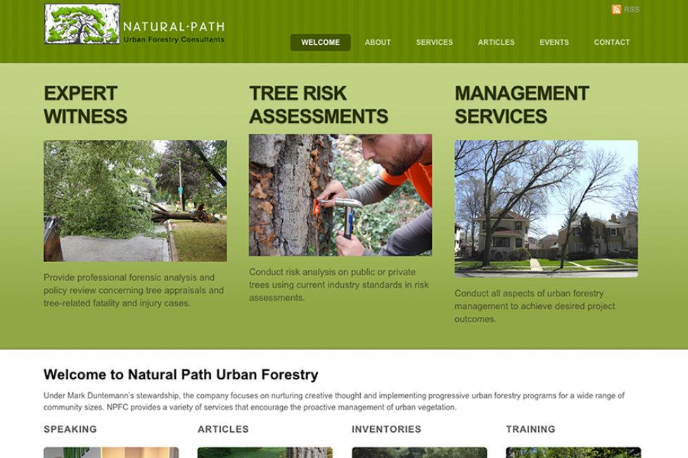 NaturalPathForestry.com LAUNCH