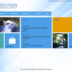PrecisionSurgical.org updates!