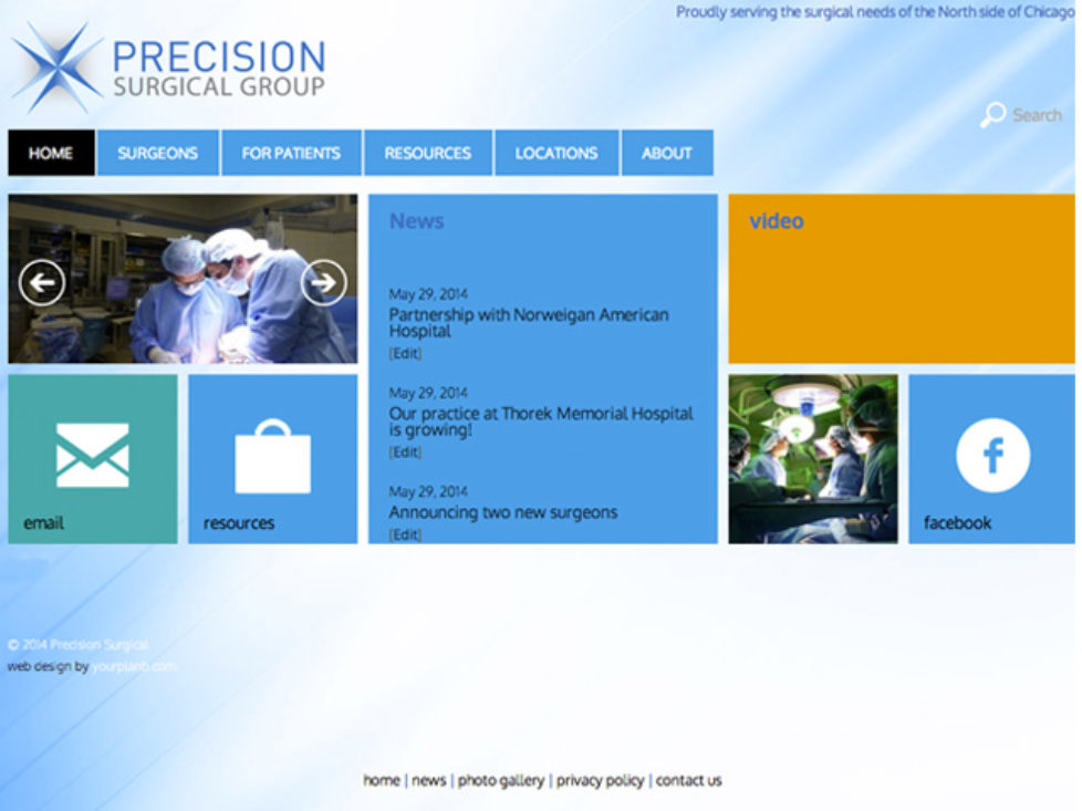 PrecisionSurgical.org updates!