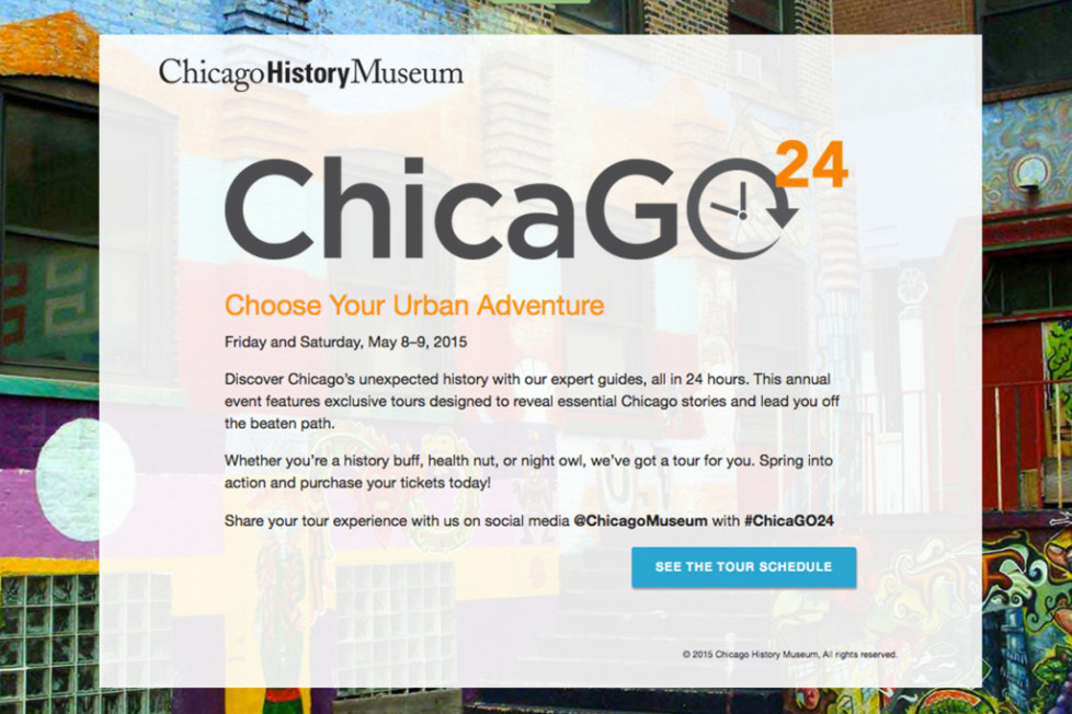 Chicago24 – Choose Your Urban Adventure