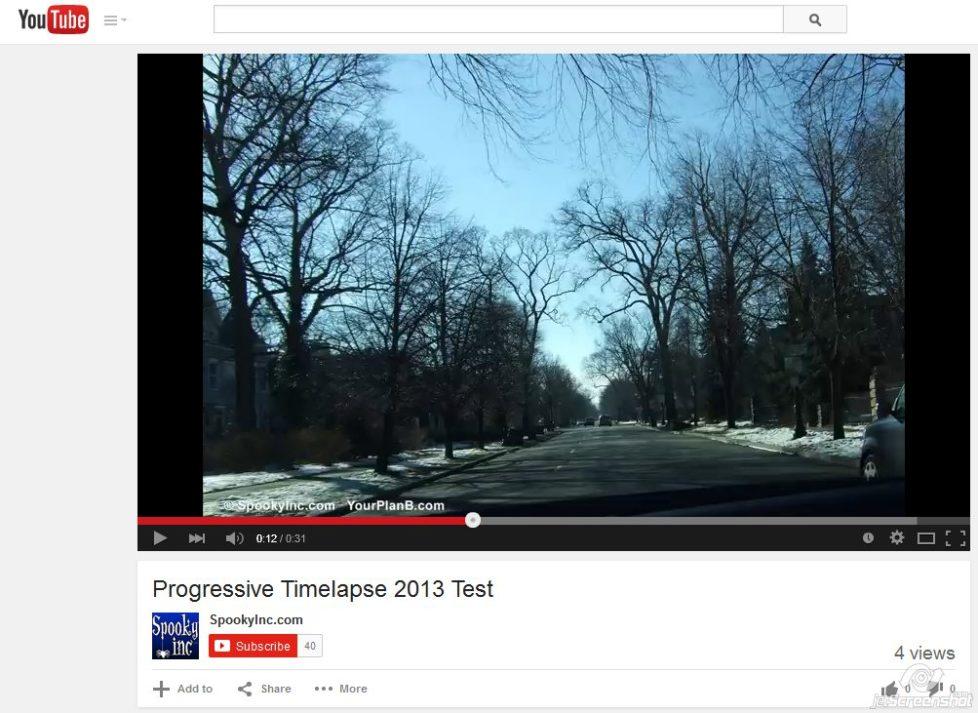 PROGRESSIVE TIME-LAPSE