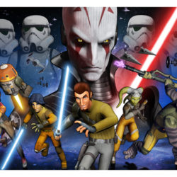 Press for Star Wars Rebels at Star Wars Celebration 7 Anaheim