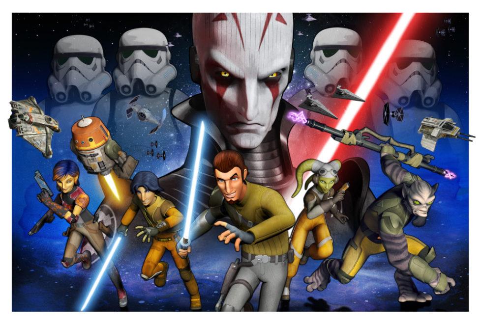 Press for Star Wars Rebels at Star Wars Celebration 7 Anaheim