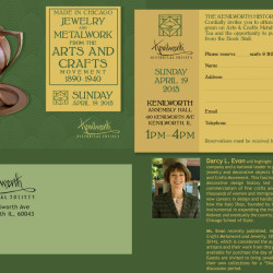 KHS Arts and Crafts Jewelry Event Invitation