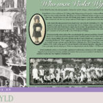 Violet Wylde Exhibit at the Kenilworth Historical Society