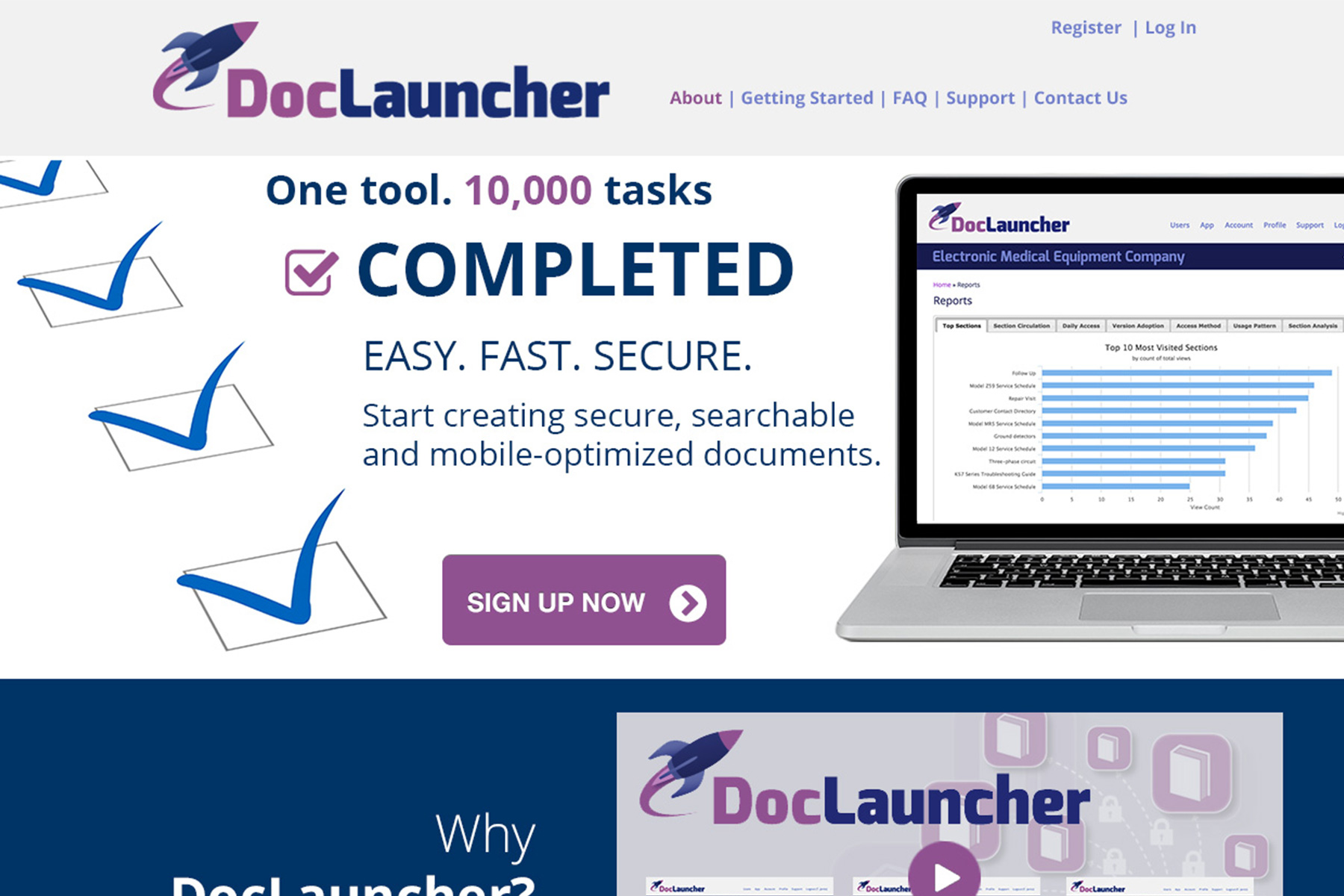DocLauncher.com remodel – A Cross Platform CMS for Mobile Apps
