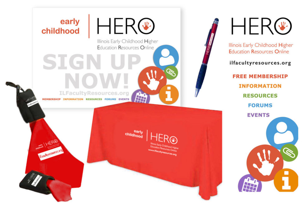HERO print design for annual conference