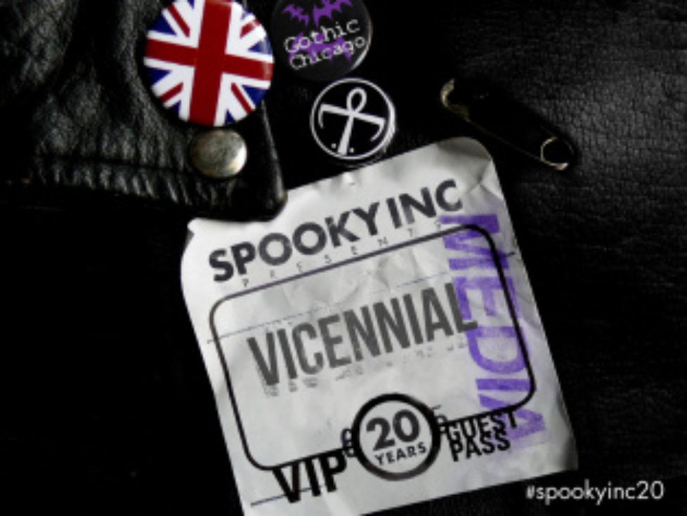 NEW BOOK! Vicennial 20 Years Into the Night from the creators of SpookyInc/GothicChicago!  (aka JameyB and DavidB from YourPlanB.com)