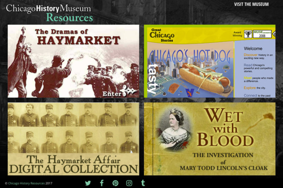 Archiving websites with Chicago History Museum